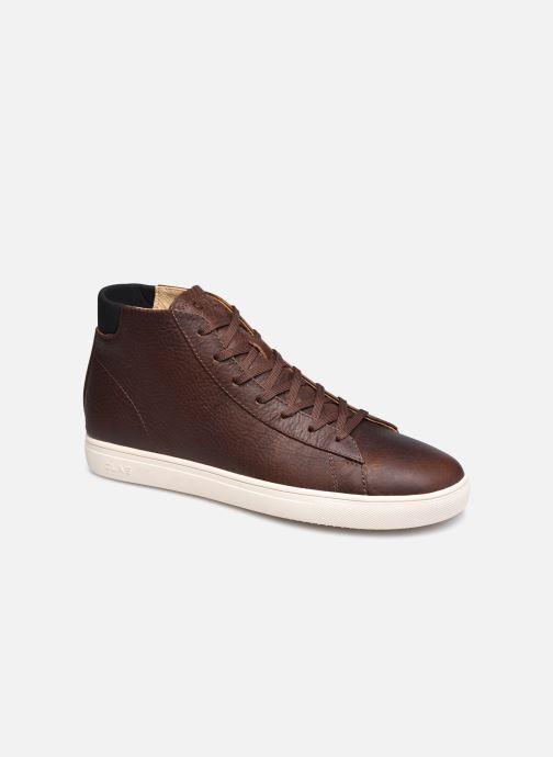 Sneakers Clae Bradley Mid Marrone vedi dettaglio/paio