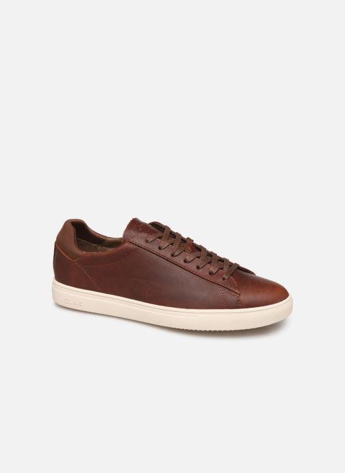 Sneaker Clae Bradley M braun detaillierte ansicht/modell