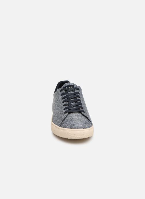 Baskets Clae Bradley Textile Bleu vue portées chaussures