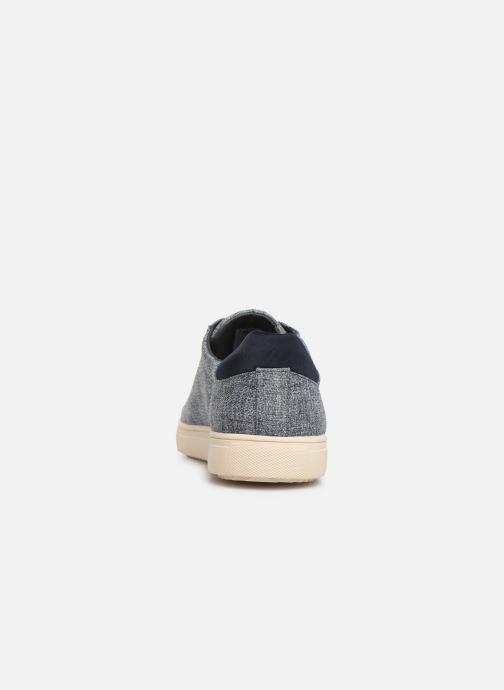 Sneakers Clae Bradley Textile Blauw rechts