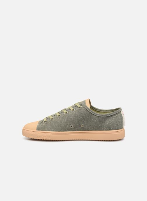Trainers Clae Herbie Textile Green front view