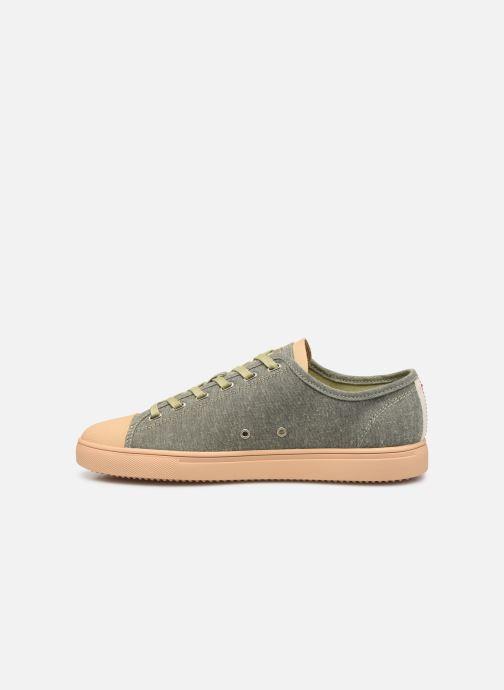 Sneakers Clae Herbie Textile Groen voorkant
