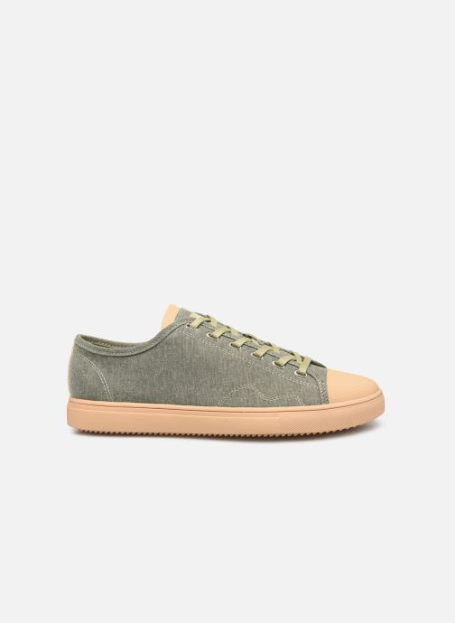 Trainers Clae Herbie Textile Green back view