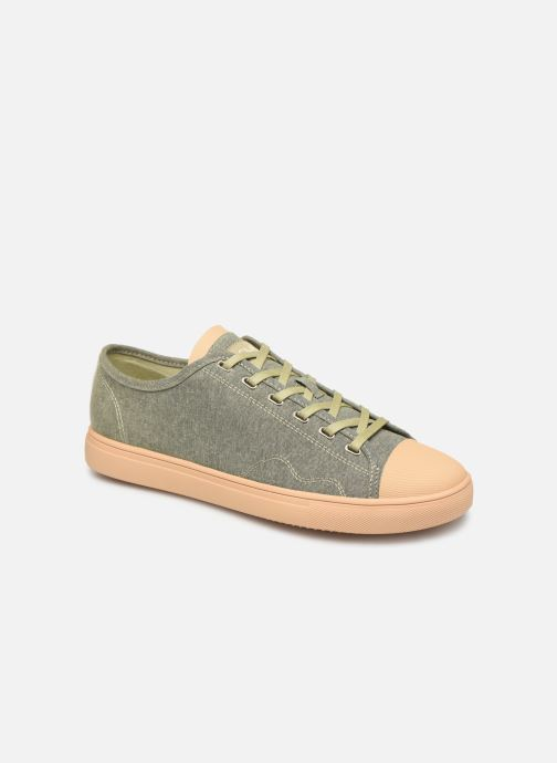 Trainers Clae Herbie Textile Green detailed view/ Pair view