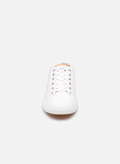 Baskets Clae Herbie Textile Blanc vue portées chaussures
