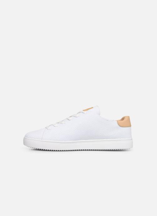 Sneakers Clae Bradley Knit Wit voorkant