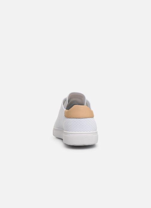 Sneaker Clae Bradley Knit weiß ansicht von rechts