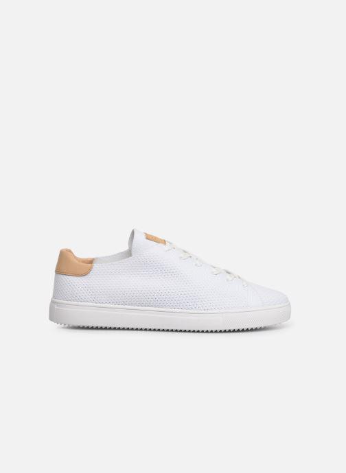 Sneakers Clae Bradley Knit Wit achterkant