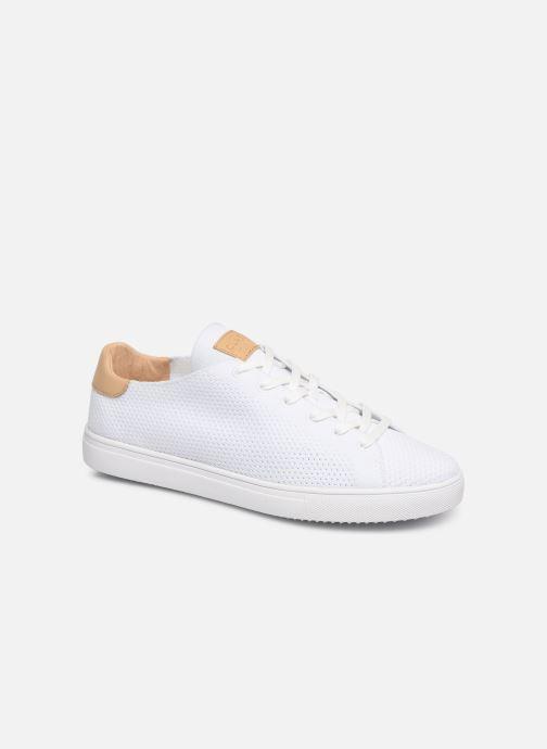Sneaker Clae Bradley Knit weiß detaillierte ansicht/modell