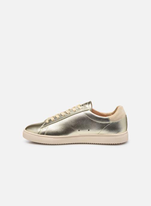 Sneakers Clae Bradley W Goud en brons voorkant