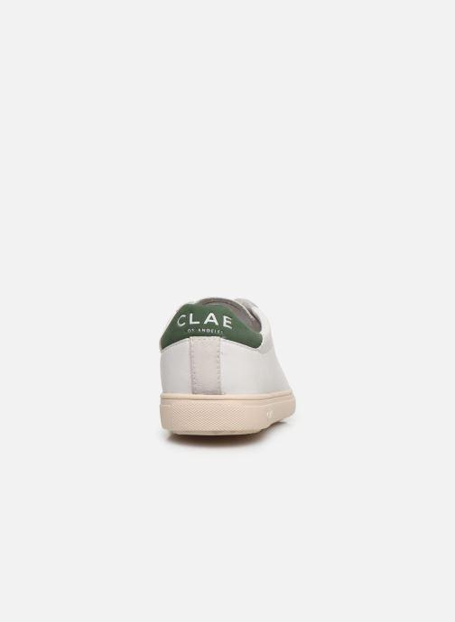 Sneaker Clae Bradley W weiß ansicht von rechts