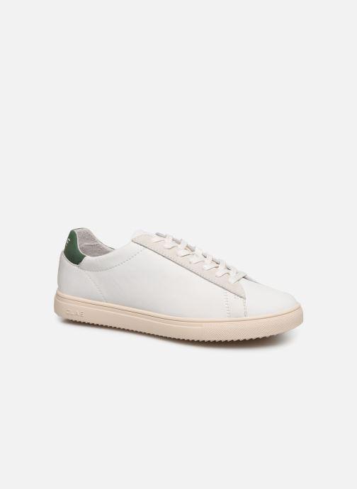 Sneaker Clae Bradley W weiß detaillierte ansicht/modell