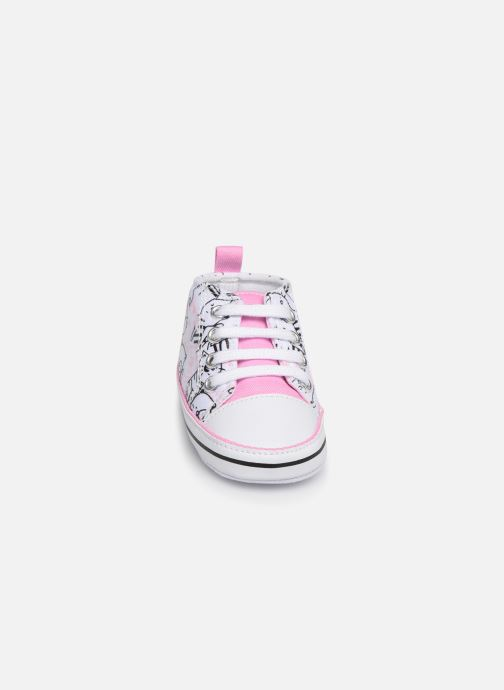 Trainers I Love Shoes Basket lacets chat Multicolor model view