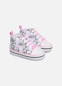 Sneaker Kinder Basket lacets chat