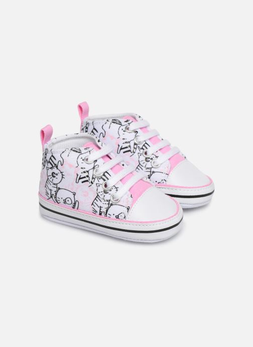 Trainers I Love Shoes Basket lacets chat Multicolor detailed view/ Pair view
