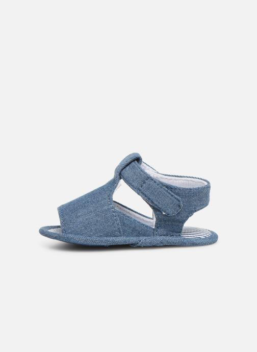 Sandales et nu-pieds I Love Shoes Sandale bébé scratch Bleu vue face