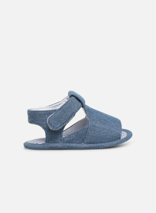 Sandales et nu-pieds I Love Shoes Sandale bébé scratch Bleu vue derrière