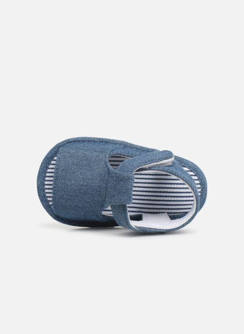 Sandales et nu-pieds I Love Shoes Sandale bébé scratch Bleu vue gauche