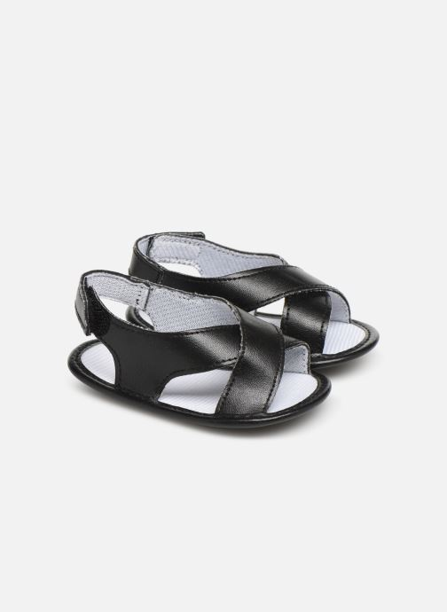 0781f98e9d Sandales et nu-pieds I Love Shoes Sandale bébé croisé Noir vue détail/paire