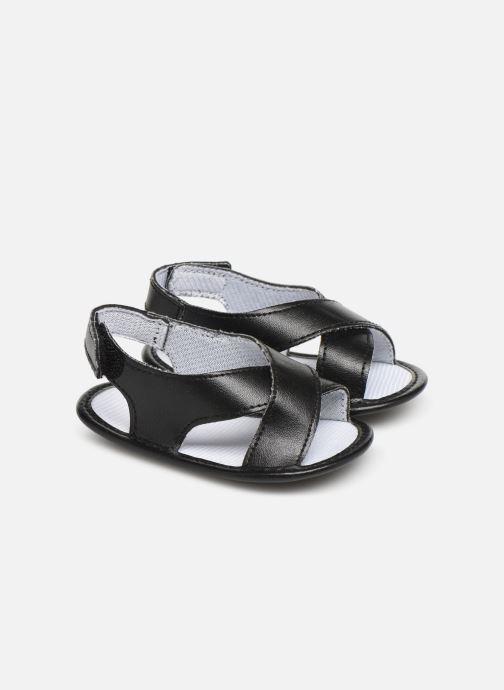 Sandales et nu-pieds I Love Shoes Sandale bébé croisé Noir vue détail/paire