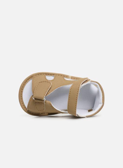 Sandalias I Love Shoes Sandale bébé bride Beige vista lateral izquierda