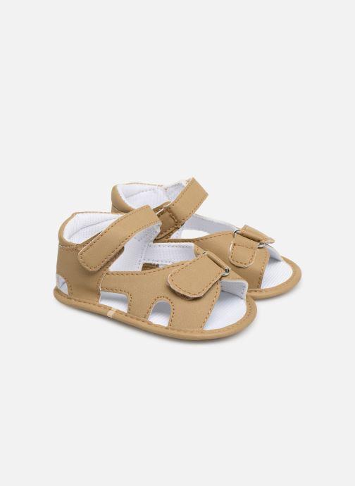 Sandals I Love Shoes Sandale bébé bride Beige detailed view/ Pair view
