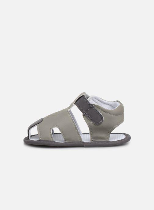 Sandales et nu-pieds I Love Shoes Sandale bébé fermé Gris vue face