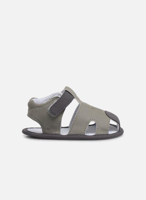 Sandales et nu-pieds I Love Shoes Sandale bébé fermé Gris vue derrière