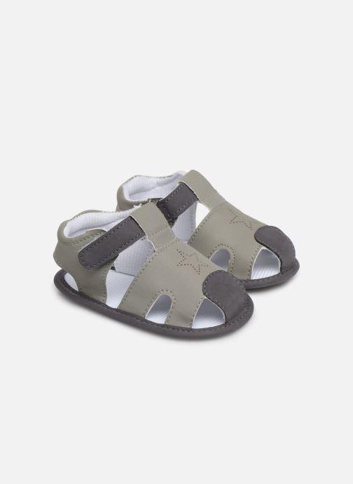 Sandales et nu-pieds I Love Shoes Sandale bébé fermé Gris vue détail/paire