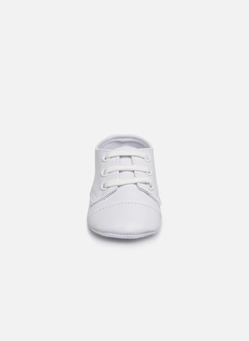 Trainers I Love Shoes chaussures céremonie lacets White model view