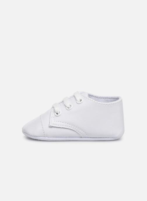 Baskets I Love Shoes chaussures céremonie lacets Blanc vue face