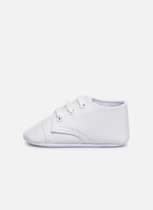 Trainers I Love Shoes chaussures céremonie lacets White front view