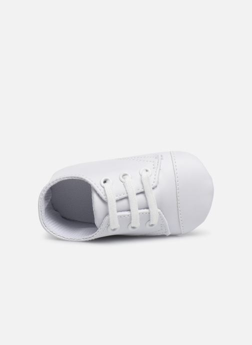 Trainers I Love Shoes chaussures céremonie lacets White view from the left