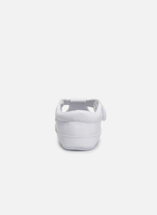 Ballet pumps I Love Shoes Chaussures céremonie Salomé White view from the right