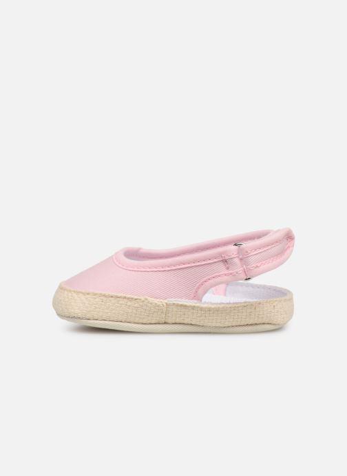 Ballet pumps I Love Shoes Espadrilles naissance Pink front view