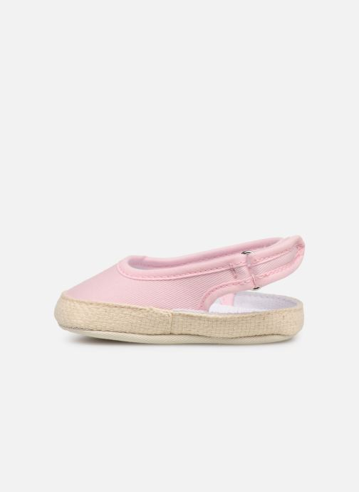 Ballerines I Love Shoes Espadrilles naissance Rose vue face