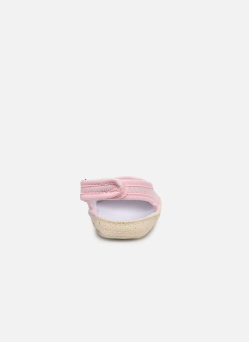 Ballet pumps I Love Shoes Espadrilles naissance Pink view from the right