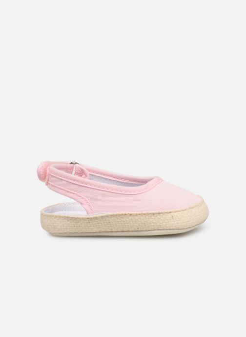 Ballet pumps I Love Shoes Espadrilles naissance Pink back view