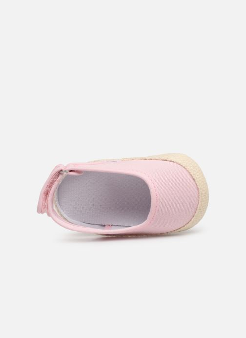 Ballet pumps I Love Shoes Espadrilles naissance Pink view from the left