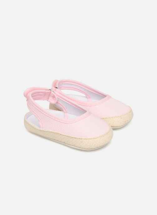 Ballet pumps I Love Shoes Espadrilles naissance Pink detailed view/ Pair view