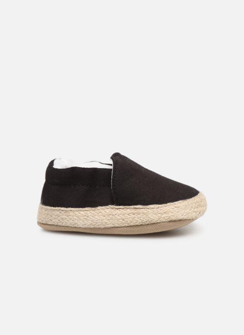 Slippers I Love Shoes Espadrilles elastique Black back view
