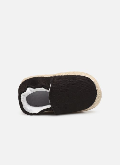Slippers I Love Shoes Espadrilles elastique Black view from the left