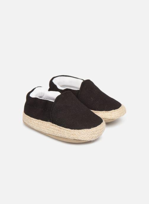 Slippers I Love Shoes Espadrilles elastique Black detailed view/ Pair view