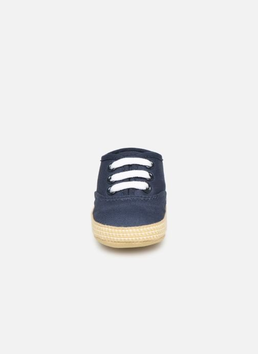 Slippers I Love Shoes Espadrilles lacets Blue model view