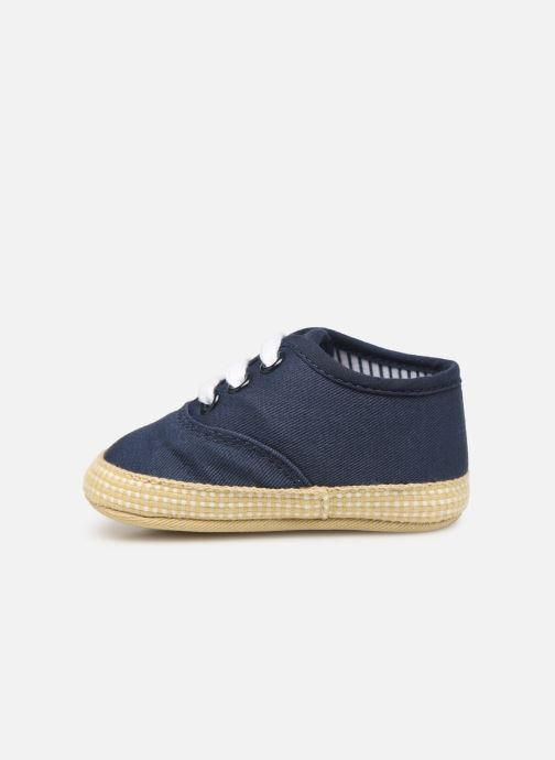 Slippers I Love Shoes Espadrilles lacets Blue front view