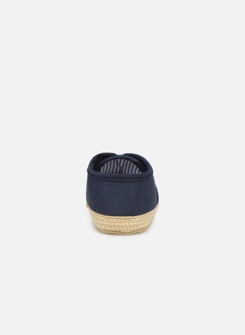 Slippers I Love Shoes Espadrilles lacets Blue view from the right
