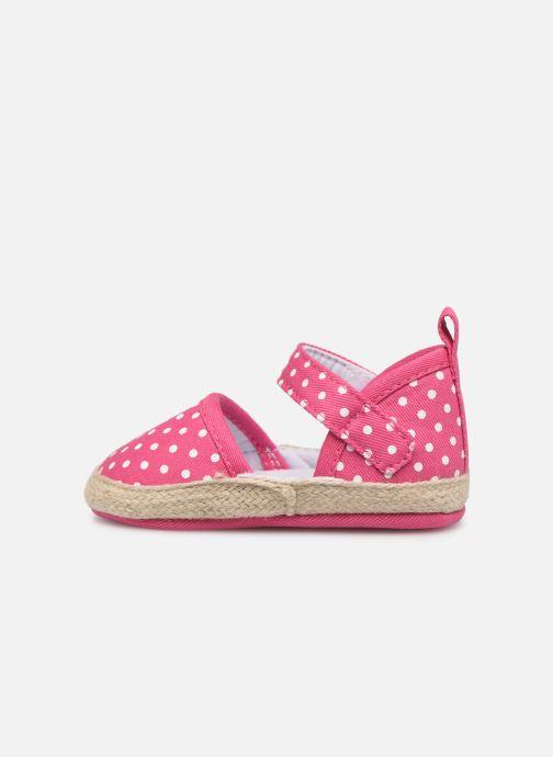 Sandales et nu-pieds I Love Shoes Espadrilles bride Rose vue face
