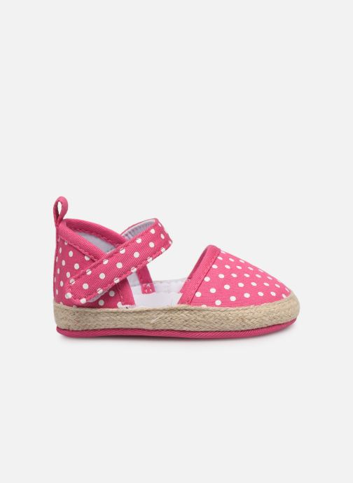 Sandales et nu-pieds I Love Shoes Espadrilles bride Rose vue derrière