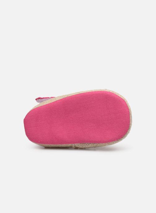 Sandales et nu-pieds I Love Shoes Espadrilles bride Rose vue haut