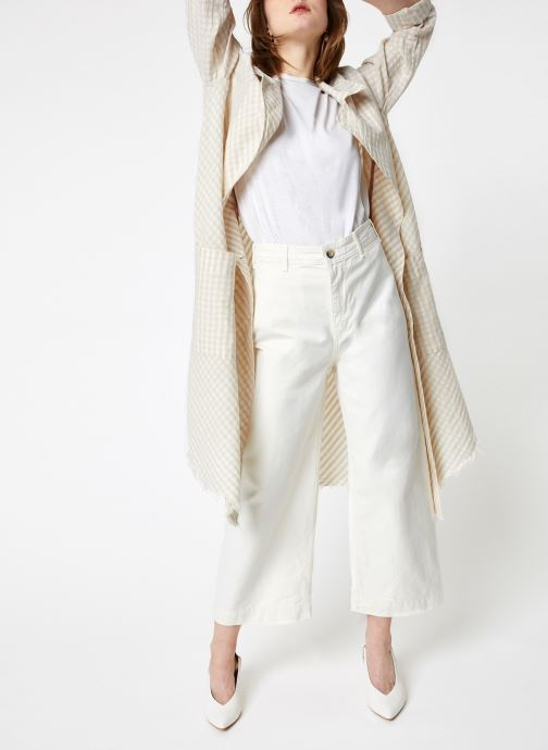 Vêtements Free People LET'S JUST CRUISE DUSTER Beige vue bas / vue portée sac